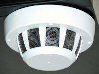 Камера в датчике пожарной сигнализации