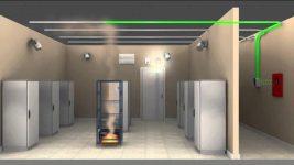Какие помещения оборудуются пожарной сигнализацией