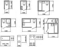 Минимальная ширина жилой комнаты СНИП