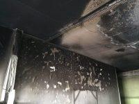 Чем отмыть копоть после пожара
