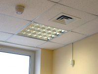 Потолок в магазине по пожарной безопасности
