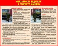 Обязанности старшего водителя в армии