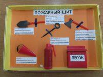 Щит по пожарной безопасности своими руками