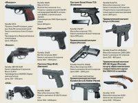 К какому виду оружия относится травматический пистолет